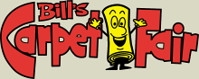 Bill's Carpet Fair Logo